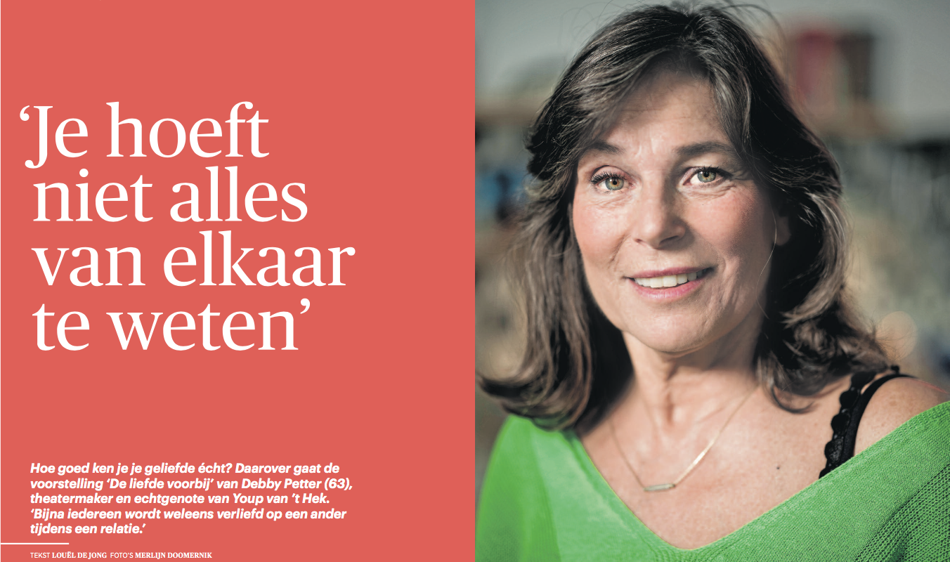 Interview met Debby Petter in Trouw
